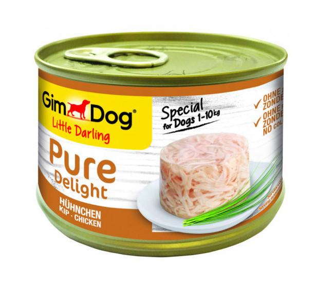 GimDog hondenvoer Little Darling Pure Delight kip 150 gr