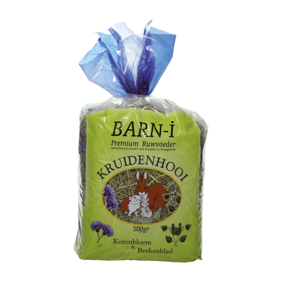 Barn-i kruidenhooi korenbloem & berkenblad 500 gr
