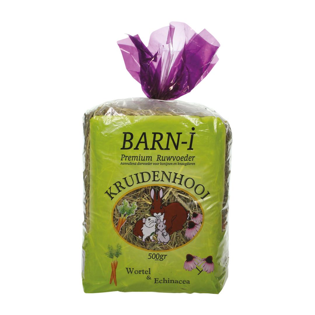 Barn-i kruidenhooi echinacea & wortel<br>500 gr