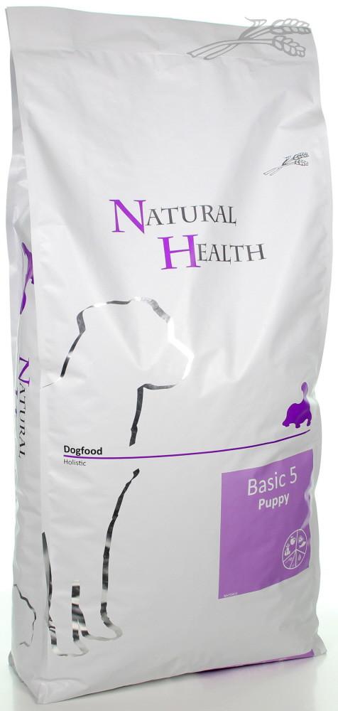 Natural Health hondenvoer Basic 5 Puppy 12,5 kg