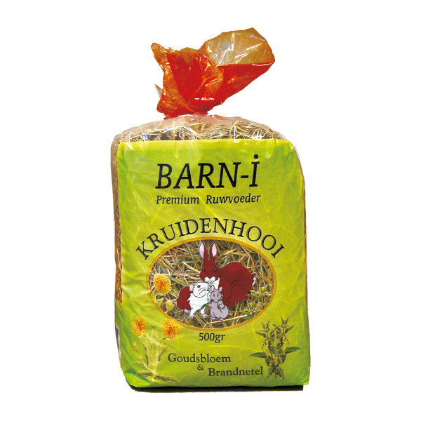 Barn-i kruidenhooi goudsbloem & brandnetel 500 gr