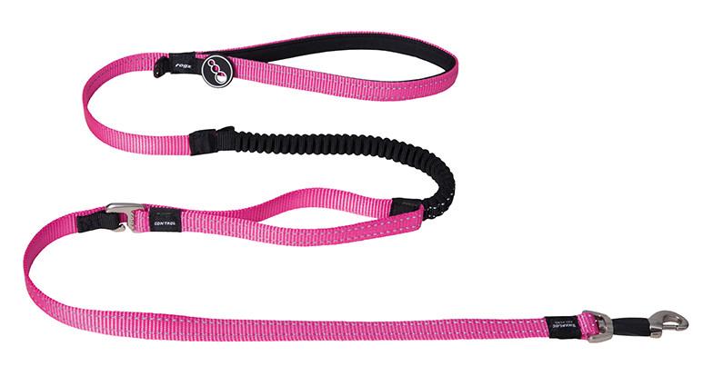 Rogz Beltz Utility hondenlijn Control Lead pink