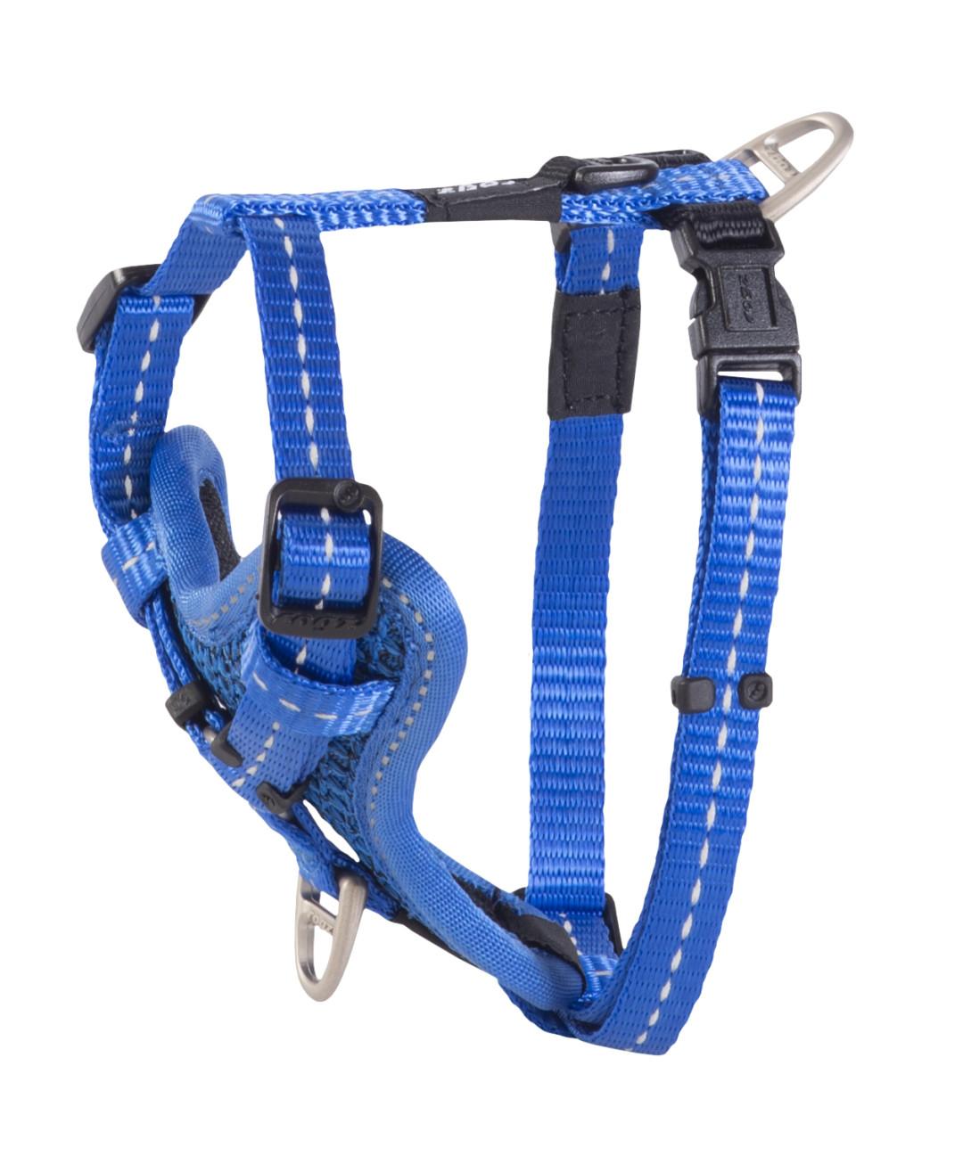 Rogz Beltz Utility hondentuig Control blue