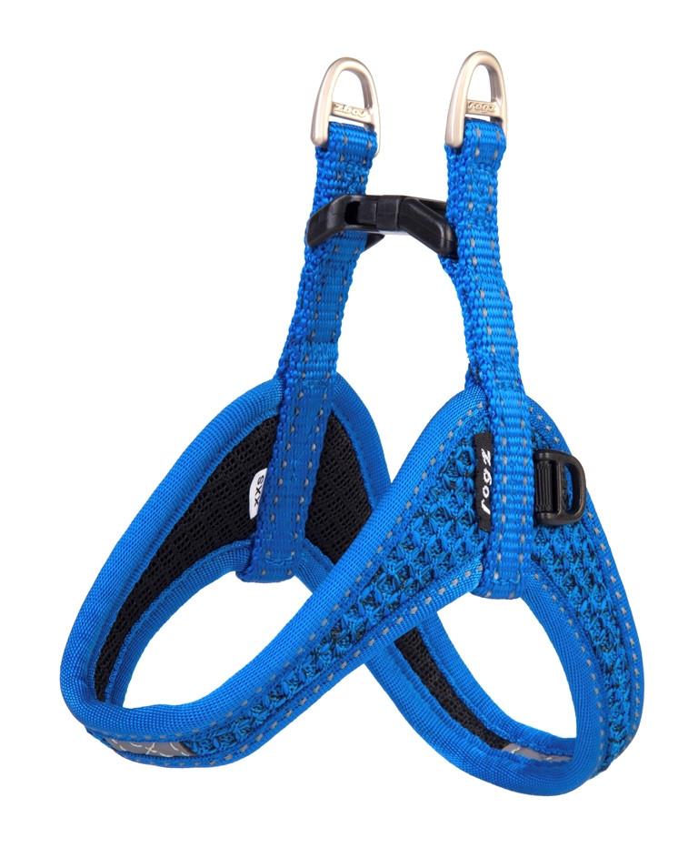 Rogz Beltz Utility hondentuig Fast Fit blue
