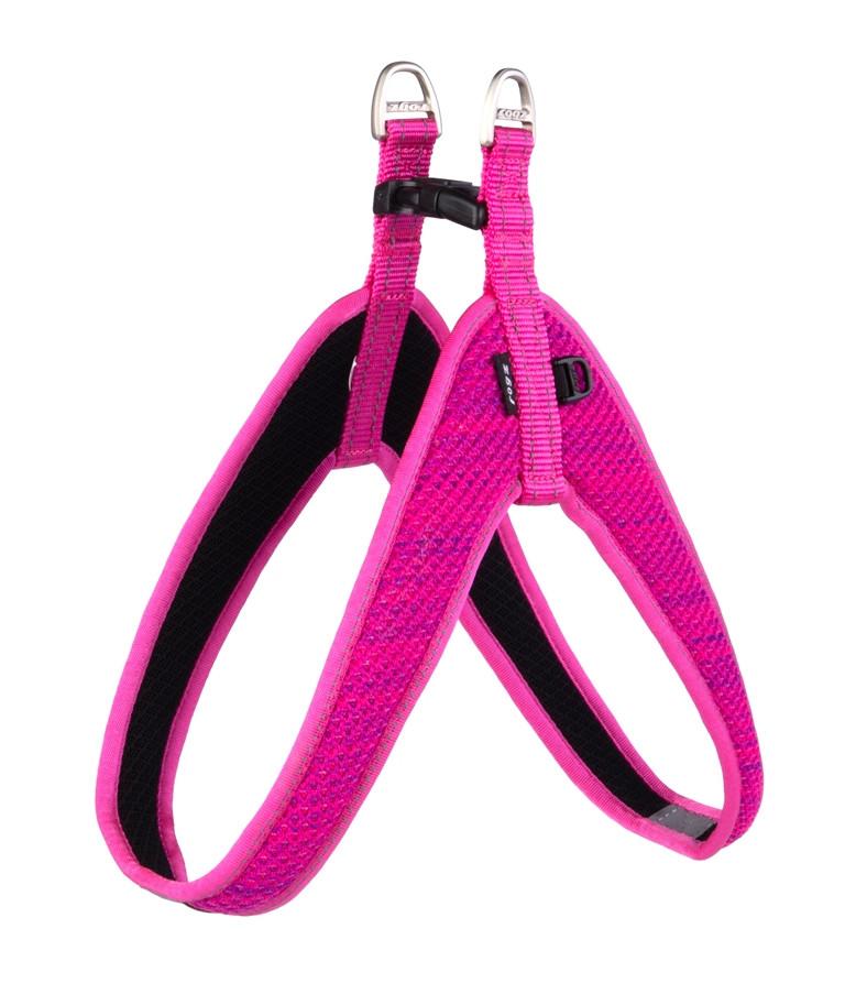 Rogz Beltz Utility hondentuig Fast Fit pink