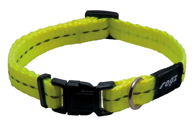 Rogz Beltz Utility halsband yellow