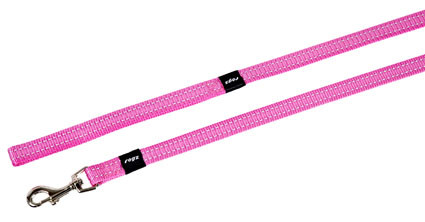 Rogz Beltz Utility hondenlijn lang pink