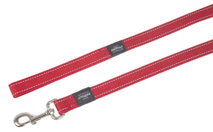 Rogz Beltz Utility hondenlijn lang red