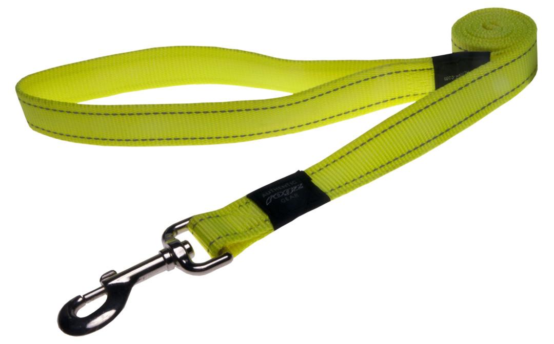 Rogz Beltz Utility hondenlijn lang yellow