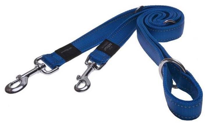 Rogz Beltz Utility hondenlijn Multi blue