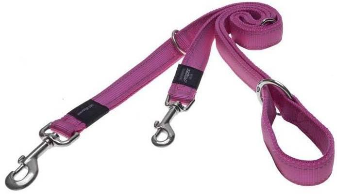 Rogz Beltz Utility hondenlijn Multi pink