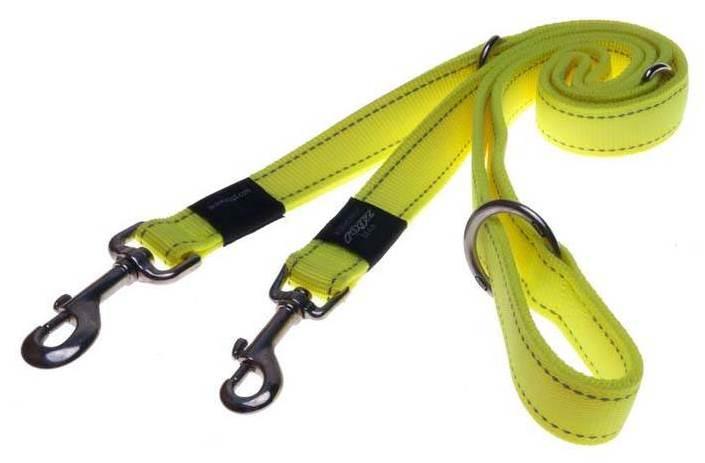 Rogz Beltz Utility hondenlijn Multi yellow