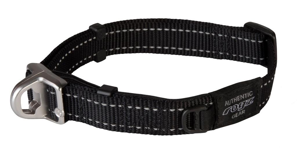 Rogz Beltz Utility halsband Safety black