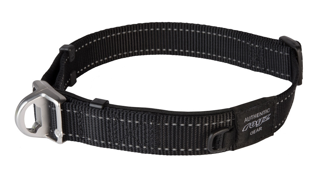 Rogz Beltz Utility halsband Safety black