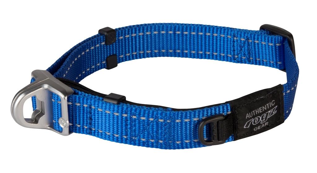 Rogz Beltz Utility halsband Safety blue