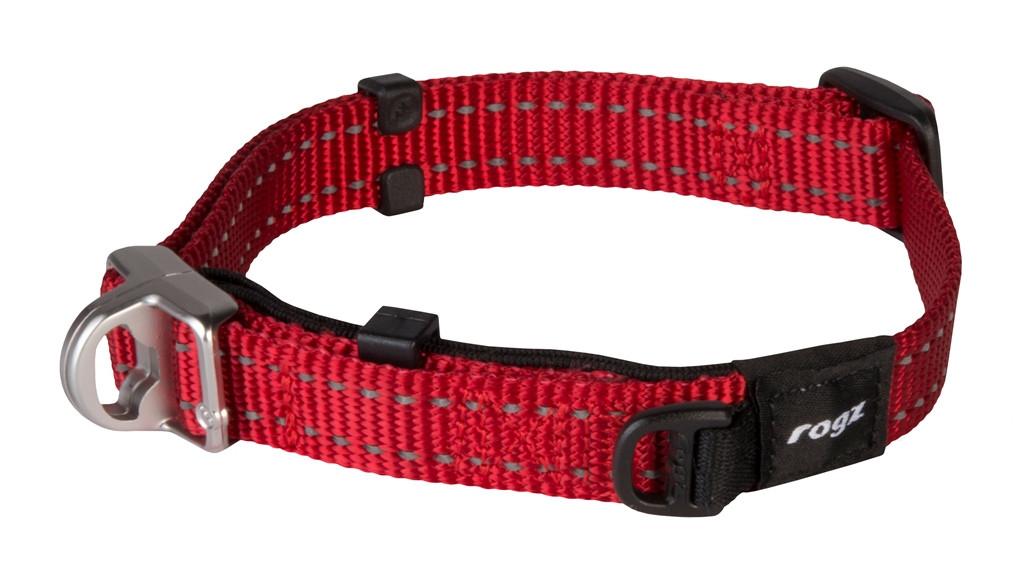 Rogz Beltz Utility halsband Safety red
