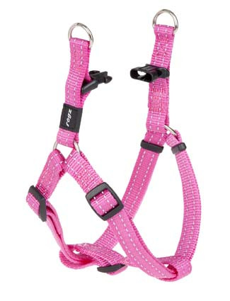 Rogz Beltz Utility hondentuig Step-in pink