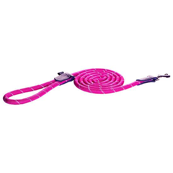 Rogz Beltz Utility hondenlijn lang Fixed Lead M pink