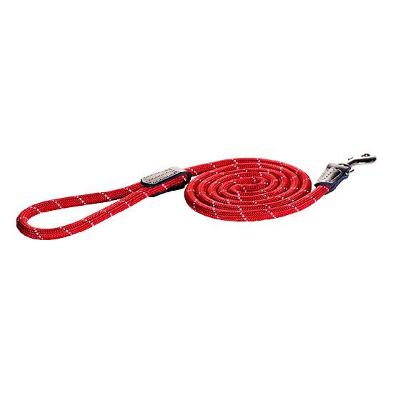 Rogz Beltz Utility hondenlijn lang Fixed Lead M red