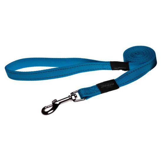 Rogz Beltz Utility hondenlijn lang turquoise