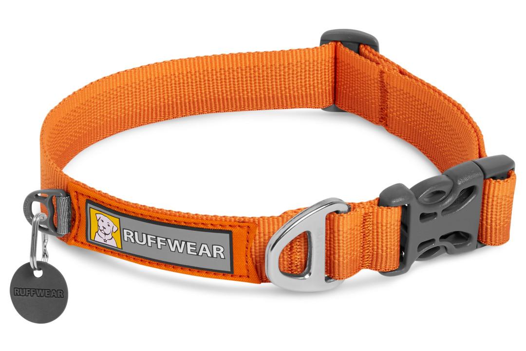 Ruffwear halsband Front Range campfire orange
