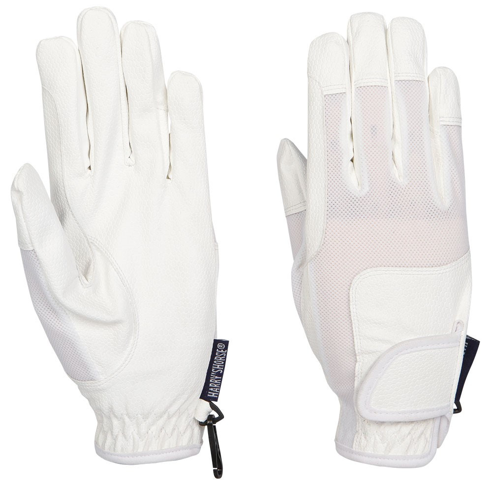 Harry's Horse handschoenen TopGrip mesh wit