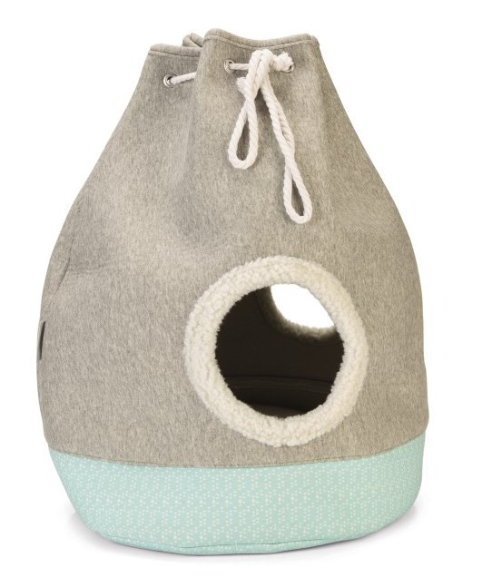 Beeztees kittenhuis Flo grijs