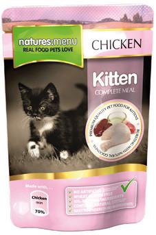 Natures Menu kattenvoer Kitten 100 gr