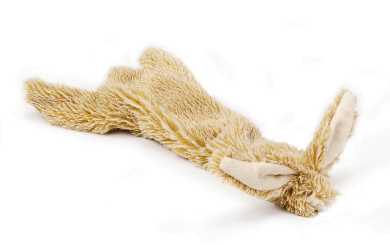 Beeztees Flatino konijn 30 bruin