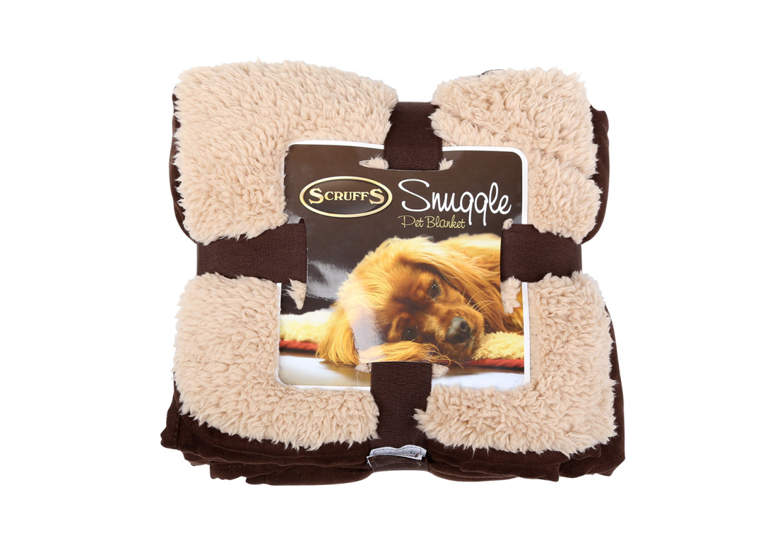 Scruffs Cosy Blanket chocolate