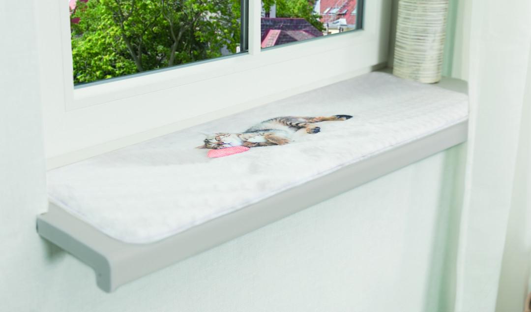 TRIXIE ligmat Nani voor vensterbank grijs