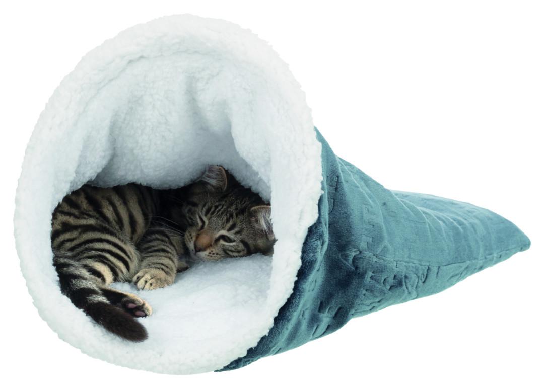 TRIXIE Relax-slaapzak Paul blauw/wit