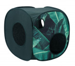 51DN - Sleep - 20S - Jungle - Catcube - Leafs-Dark Green - 40x40x40cm - 51SJUCC01 - Angle.JPG