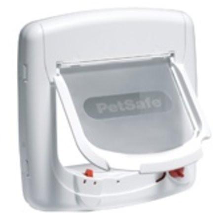 PetSafe Staywell kattenluik Deluxe Magnetic 400 white