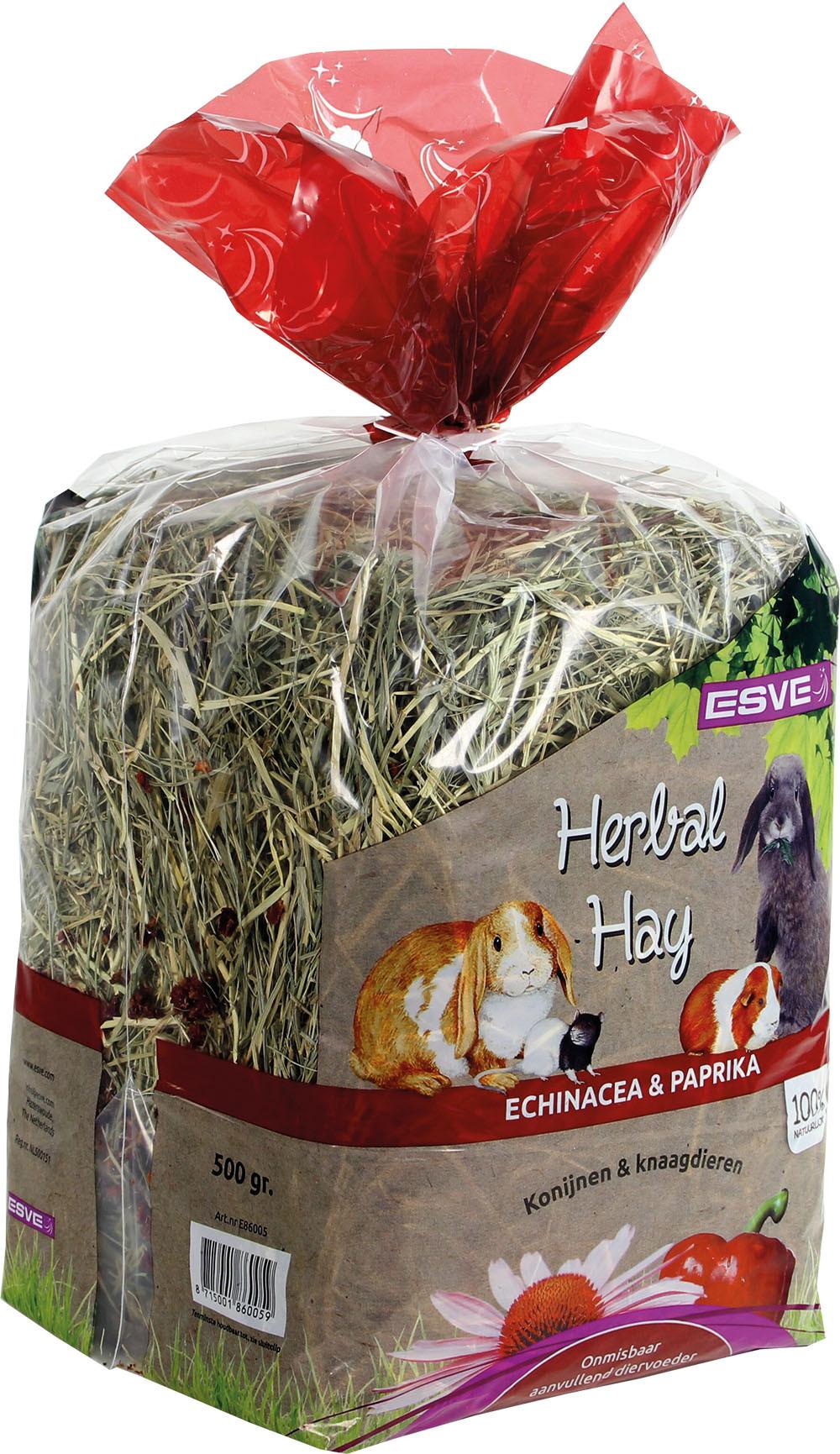 ESVE Herbal Hay echinacea en paprika 500 gr