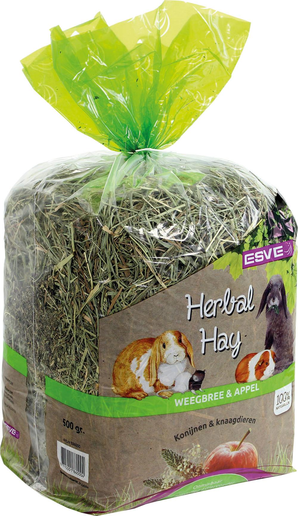 ESVE Herbal Hay weegbree en appel <br>500 gr