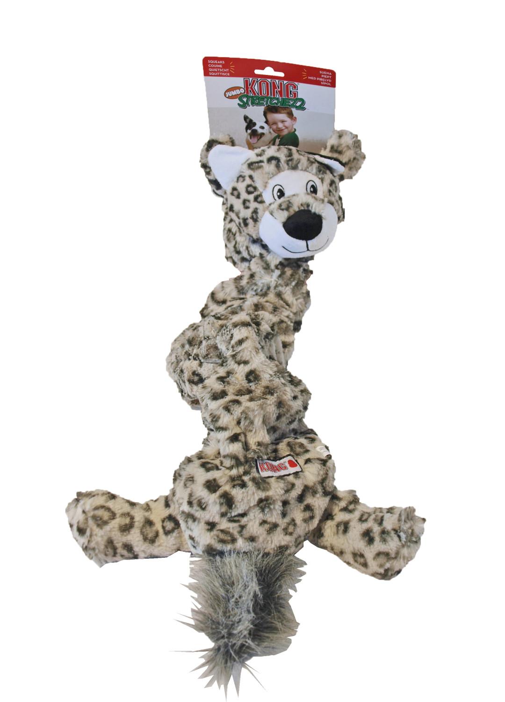 Kong Jumbo Stretchezz Snow Leopard