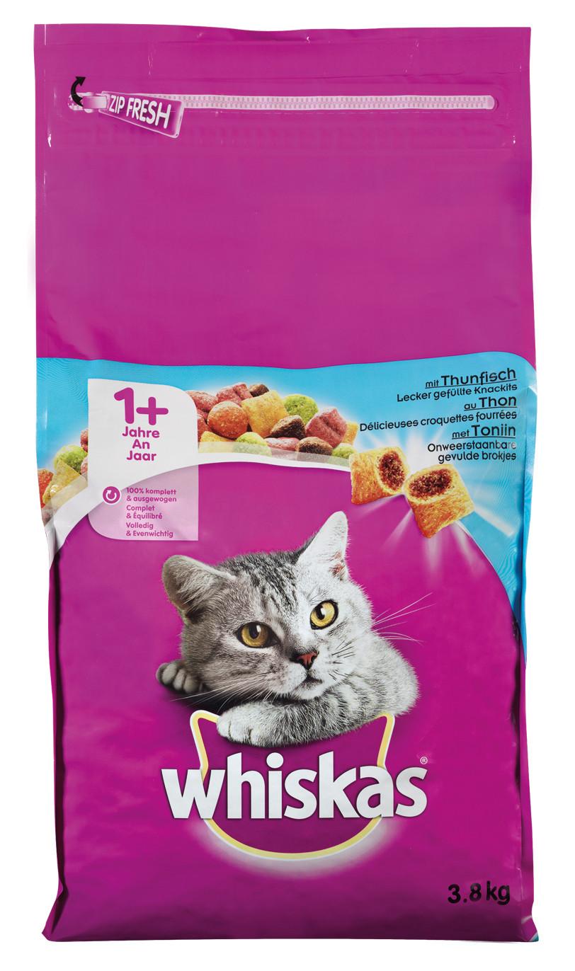 Whiskas kattenvoer Adult Tonijn 3,8 kg