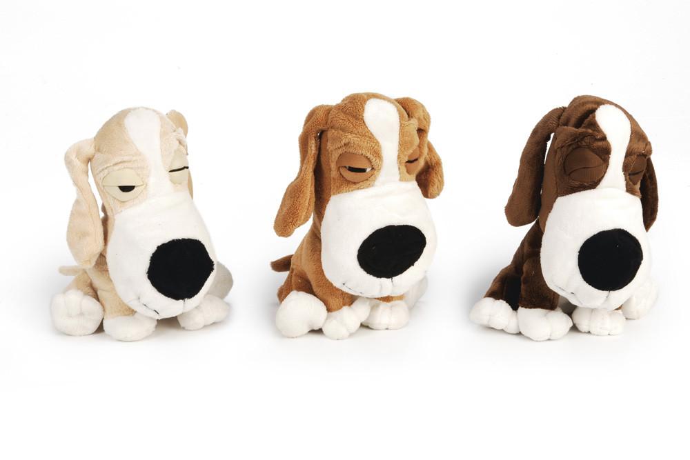 Beeztees hondenspeelgoed Hond Lazy assorti