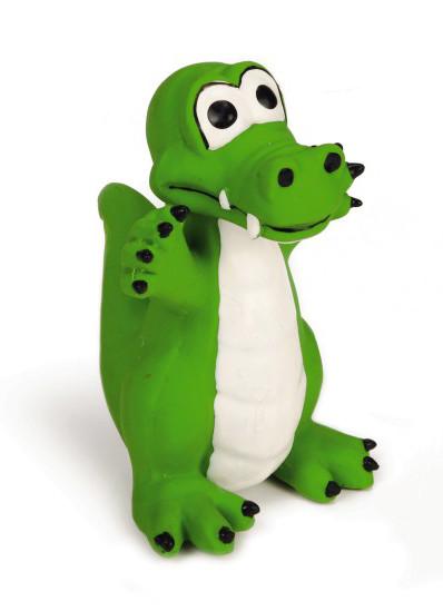 Beeztees hondenspeelgoed Krokodil groen