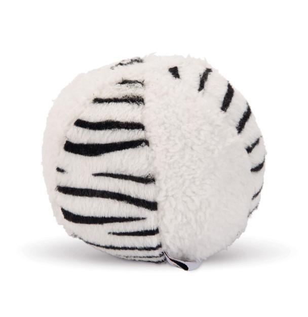 Beeztees speelbal Beasty bal wit/zwart
