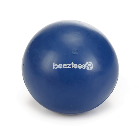 Beeztees speelbal massief blauw