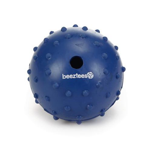 Beeztees speelbal met bel blauw