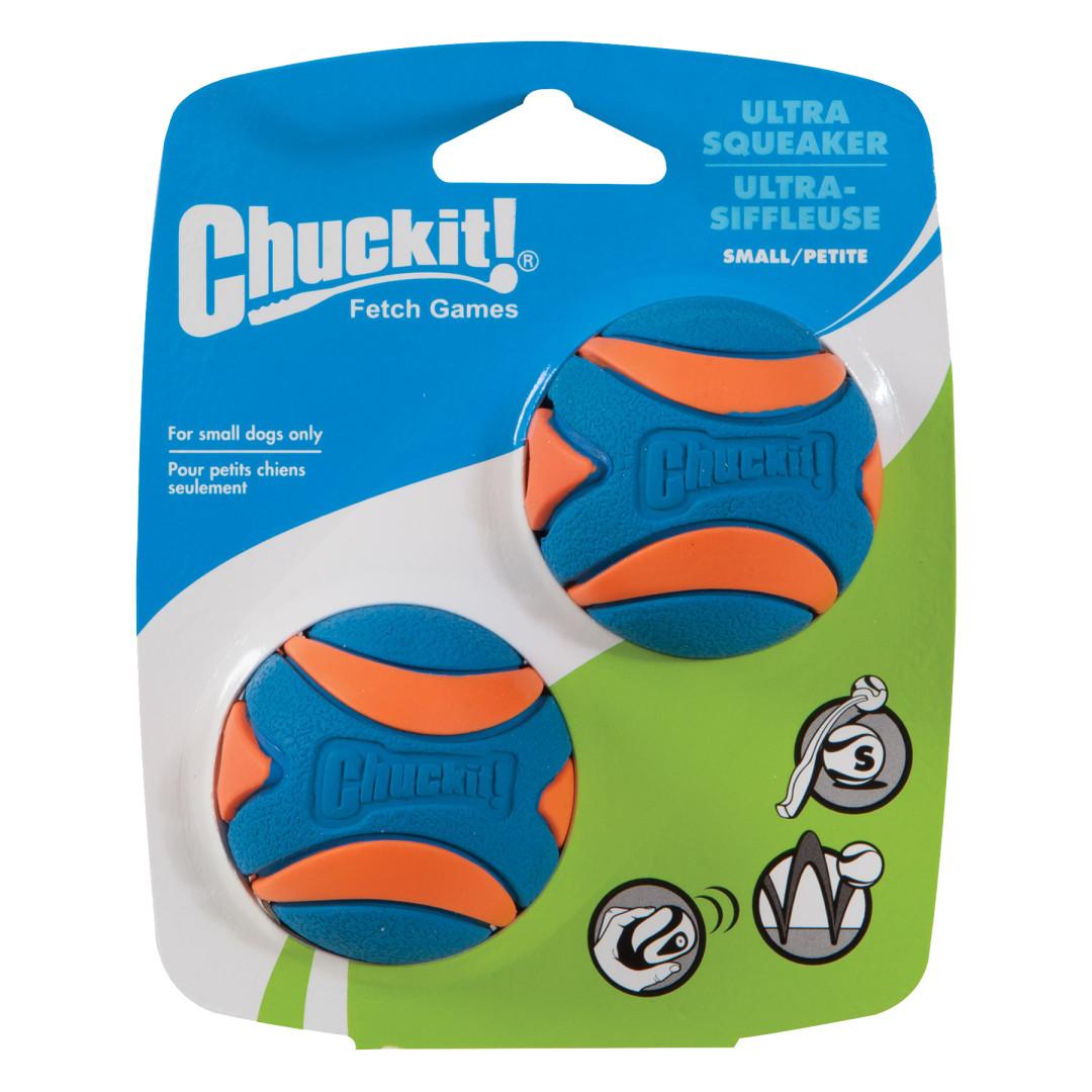Chuckit! Ultra Squeaker Ball 2 st