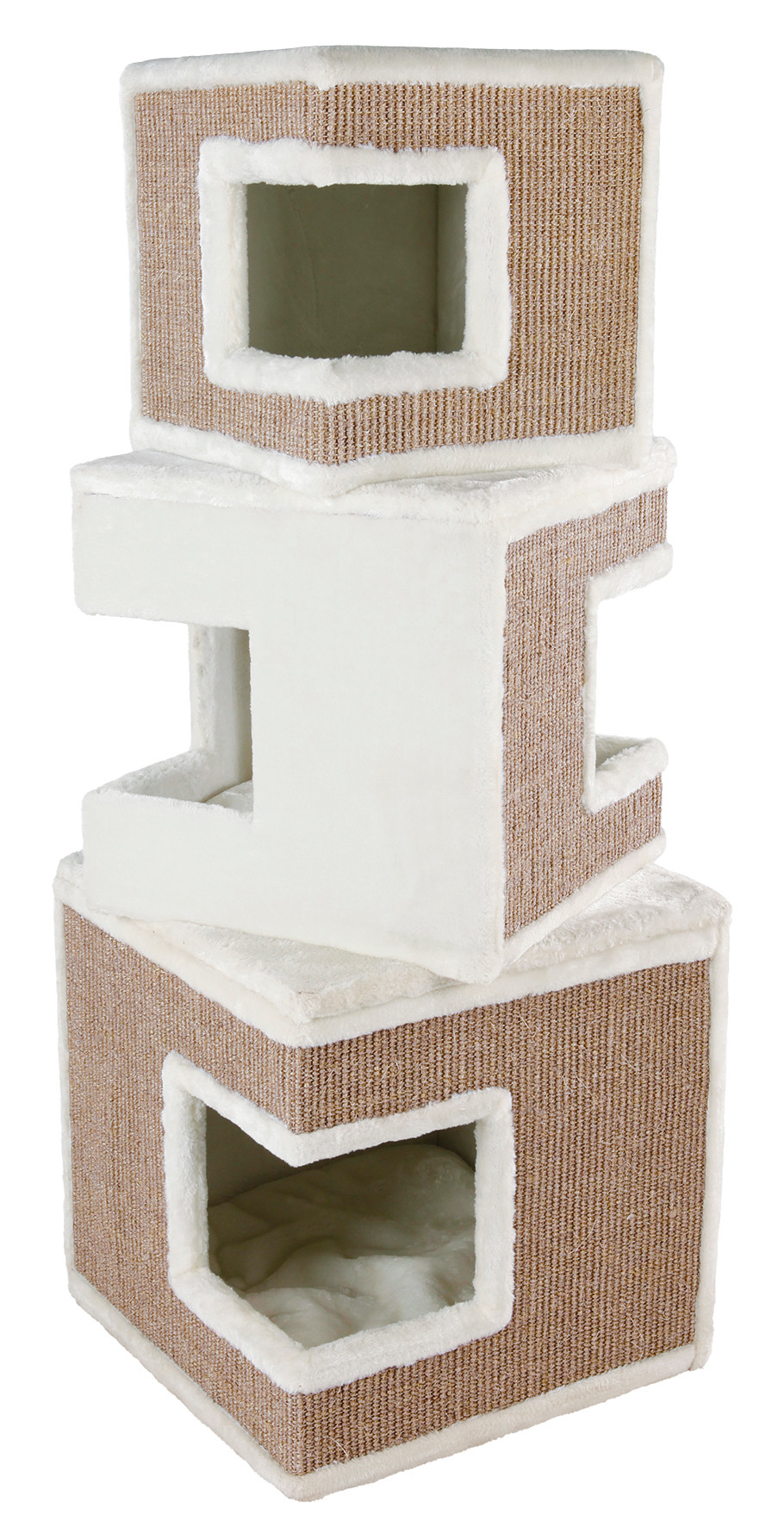 TRIXIE Cat Tower Lilo wit/bruin 123 cm