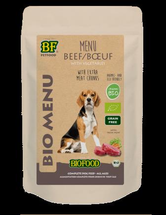 Biofood hondenvoer Bio Rund Menu 150 gr