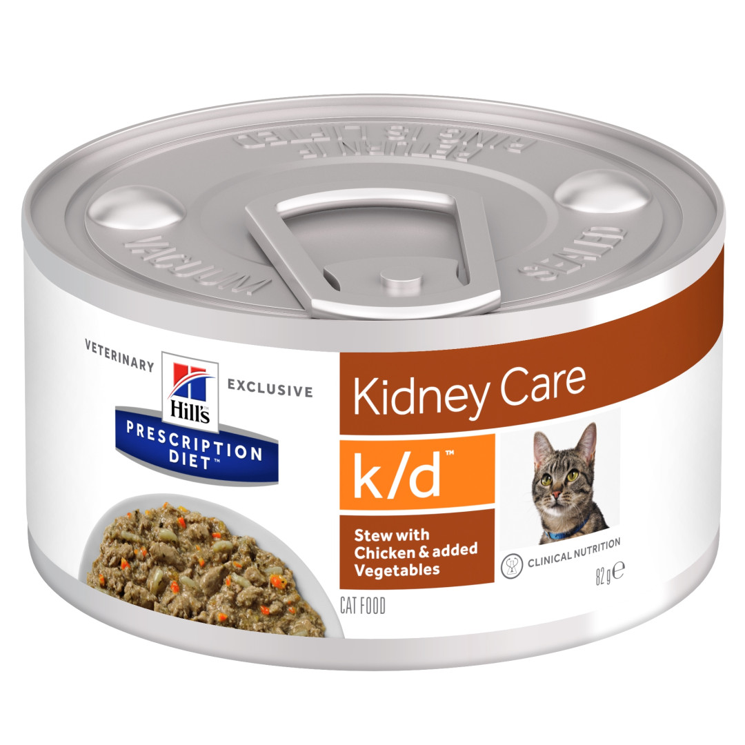 Hill's Prescription Diet kattenvoer k/d stoofpotje 82 gr