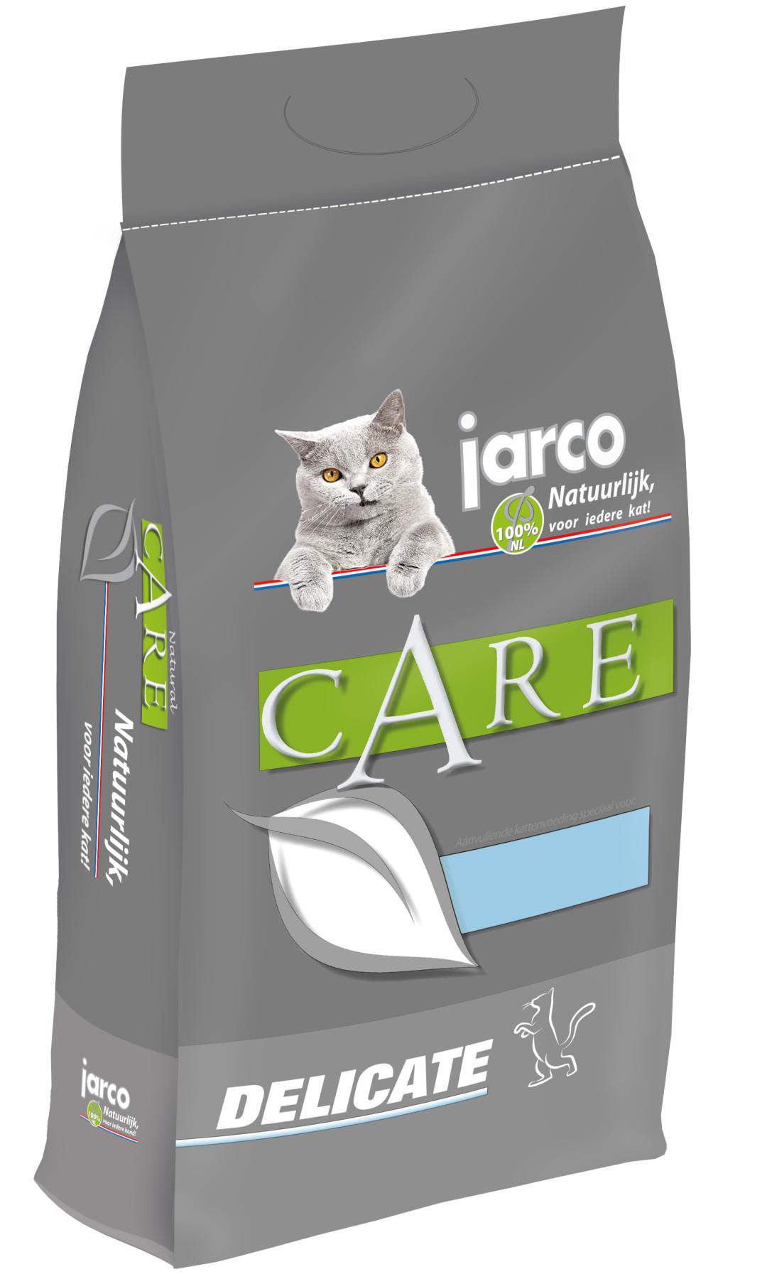 Jarco kattenvoer Natural Delicate Kip/Kalkoen 6 kg