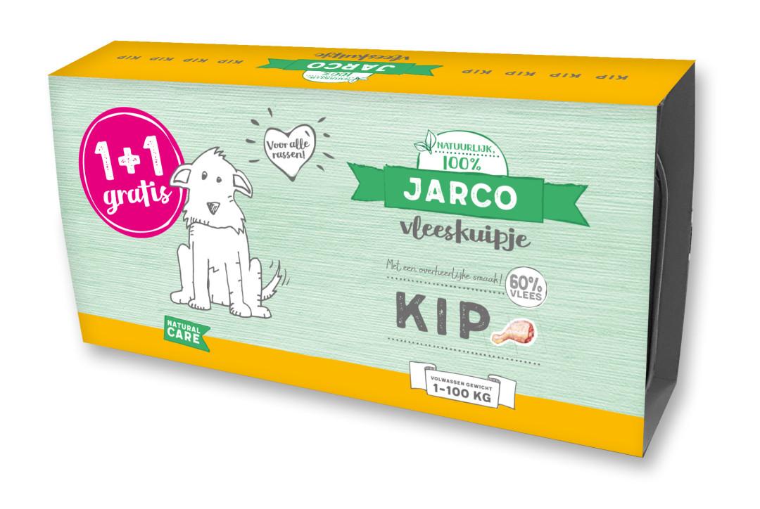 Jarco hondenvoer Vleeskuipjes Kip <br>2 x 150 gr