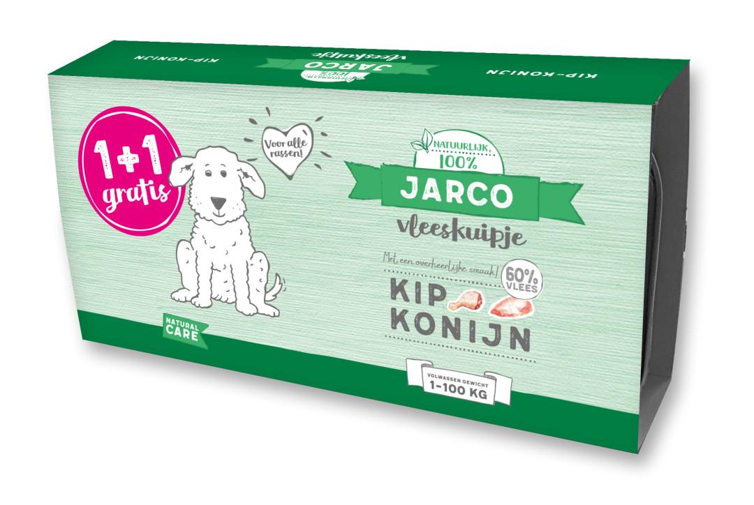 Jarco hondenvoer Vleeskuipjes Kip/Konijn 2 x 150 gr